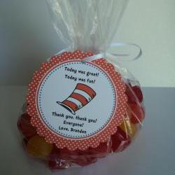 Dr. Suess Party Favor Bags